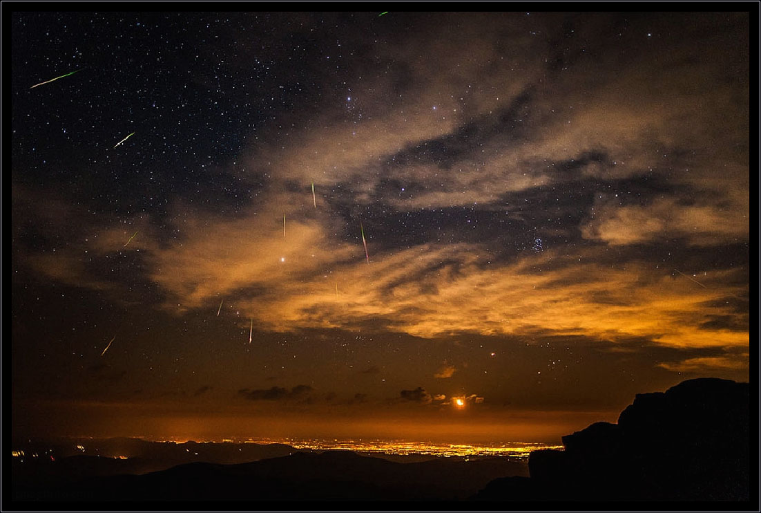 Meteor Shower Denver