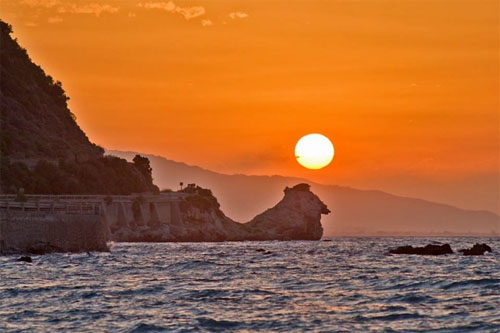 Summer Solstice Rock Platanos Greece