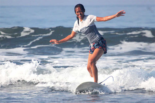Sagittarius 2018 Brown Sugar Surfcamp Bali Woman Surfing