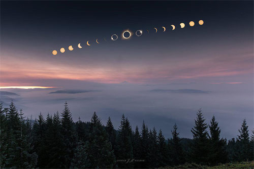 Solar Eclipse 8.21.17 Phases Jasman Mander Oregon